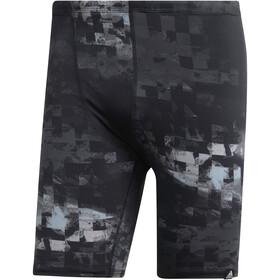 adidas Pro AOP Caleçon de bain Homme, black/ash grey